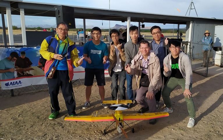 The Design, Build & Fly (DBF) hosted in the Mechanical Engineering department, supervised by Dr. C. K. Chan (ME).