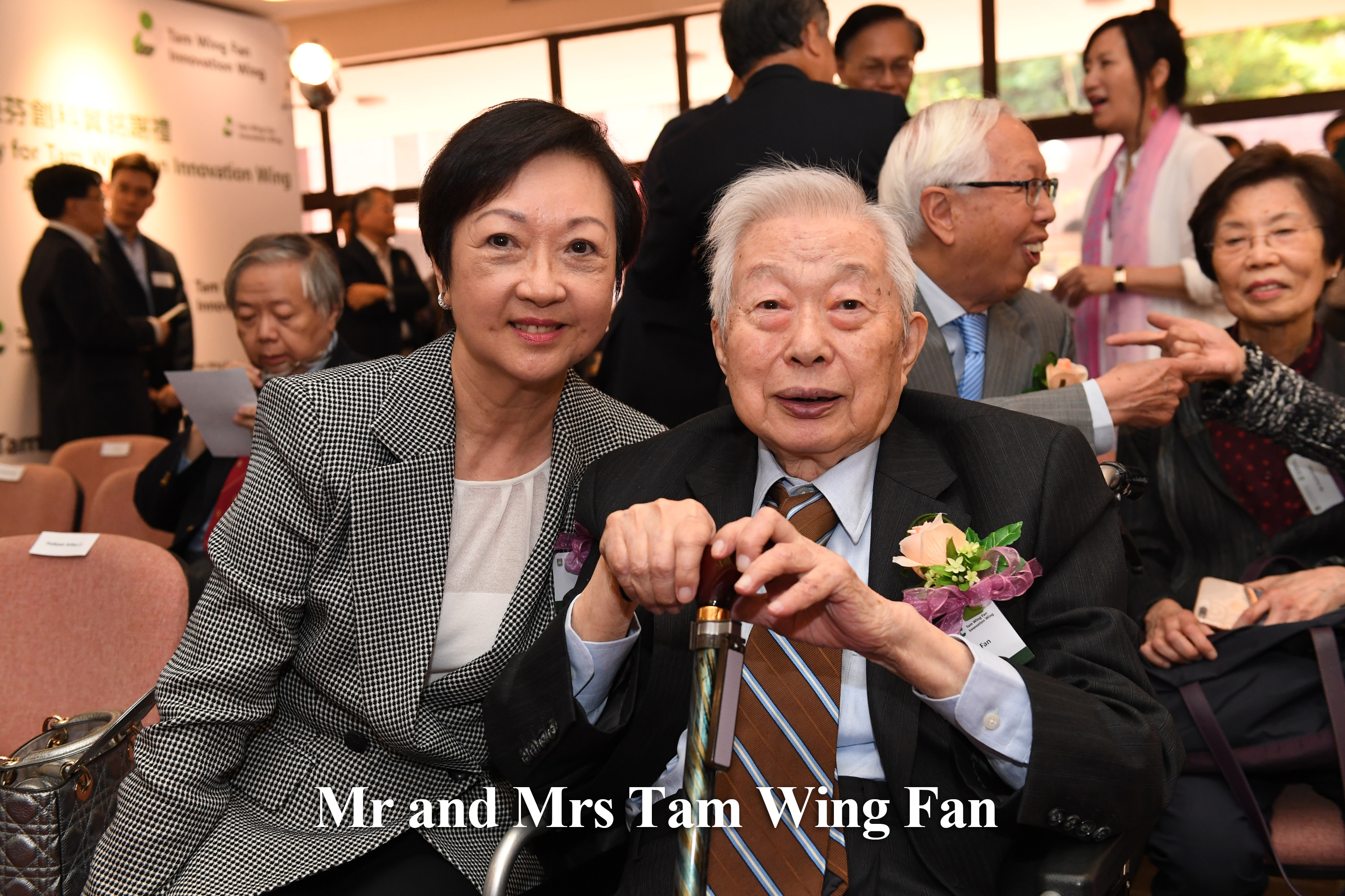 Mr and Mrs Tam Wing Fan